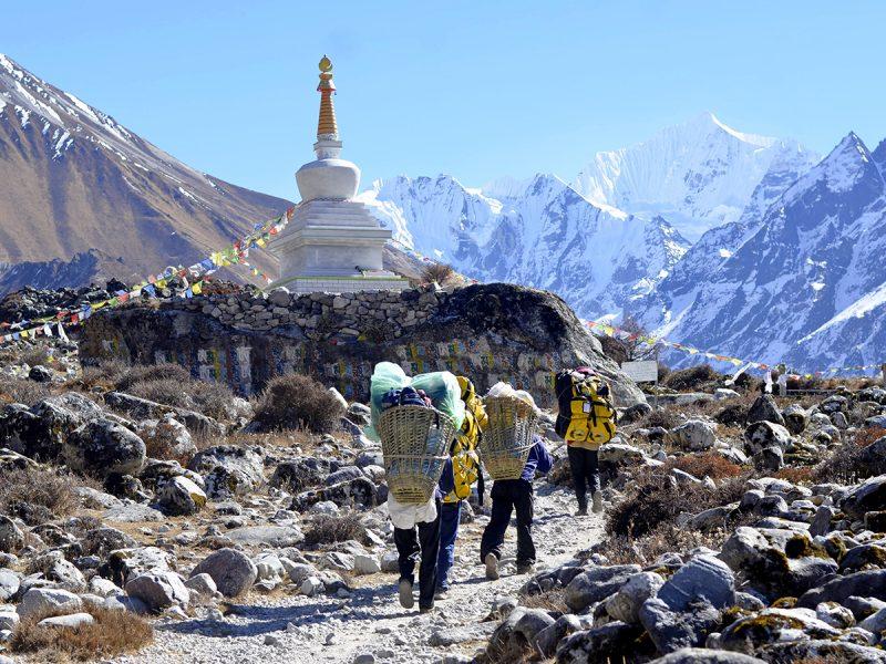 Heading to Annapurna  Base camp