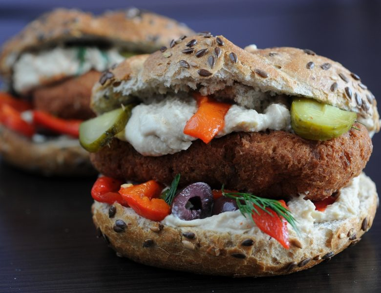 Vegetable burgers that you must taste today