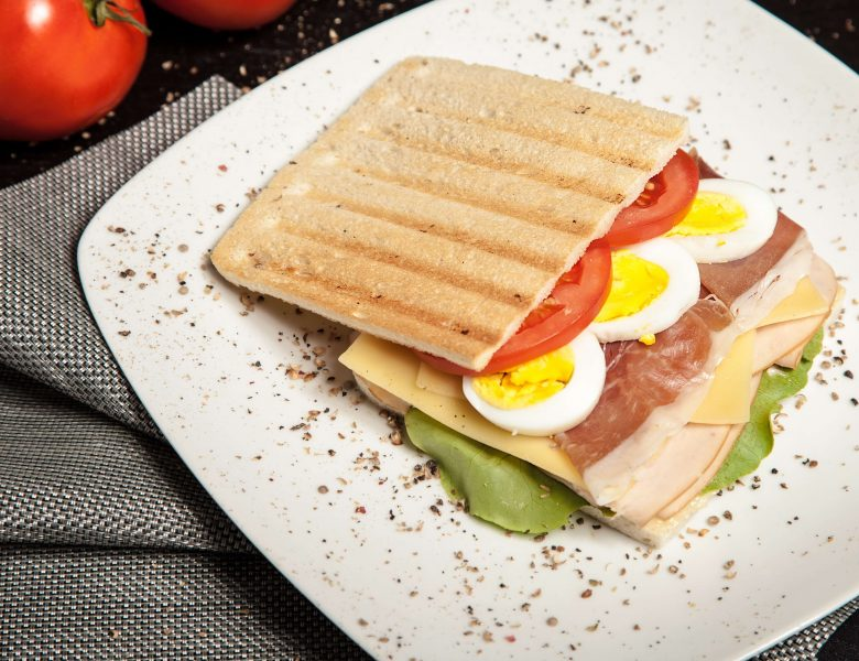 Light and mixed sandwich to make at home