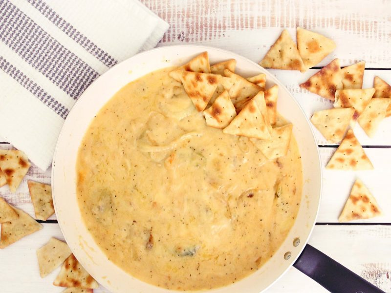 Make a soup with wheat flour at home