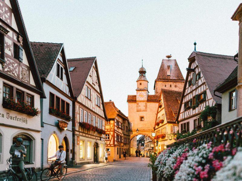 Beautiful city of Germany