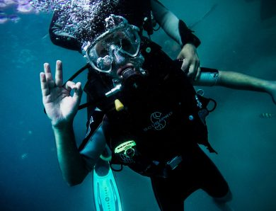 I feel fantastic on scuba diving